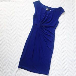 Royal Blue Sleeveless Dress Connected Apparel 6